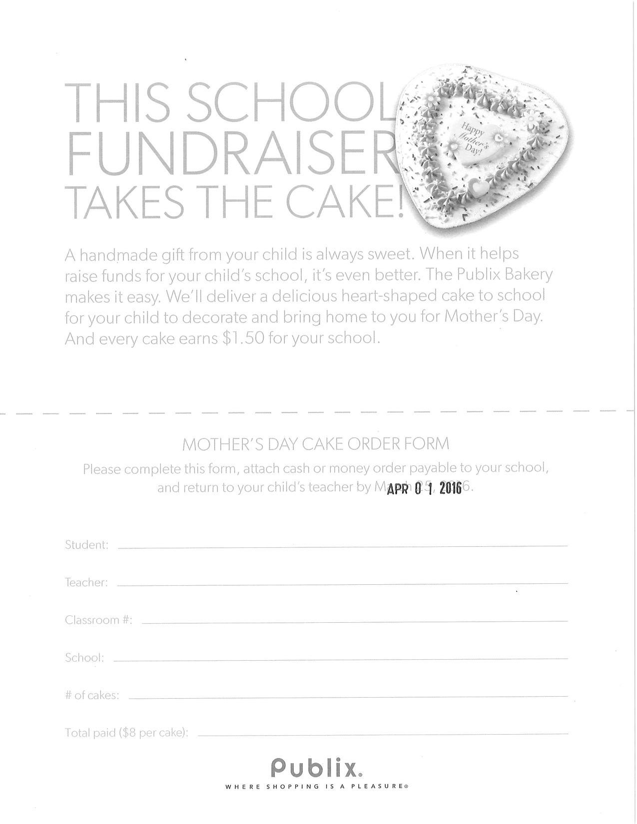 Cake Fundraiser