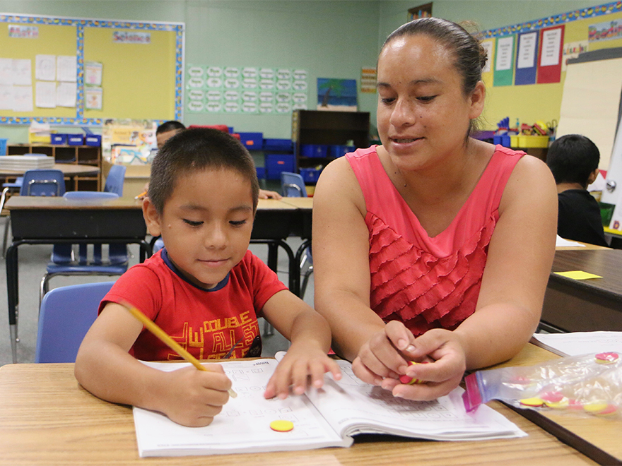Become a Volunteer at Chester Taylor Elementary