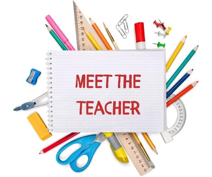 August 5th is Meet the Teacher Day!